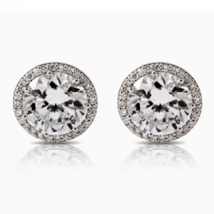 Tacori Diamond Earrings 18 Karat Fine Jewelry FE67075