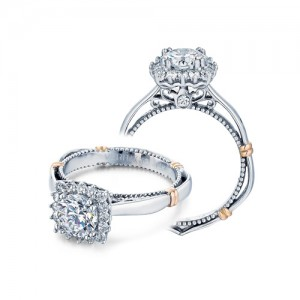 Verragio Parisian-112CU Platinum Engagement Ring