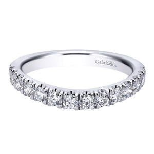 Gabriel 18 Karat Contemporary Wedding Band WB11979R6W83JJ