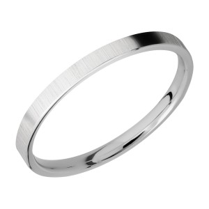 Lashbrook 2FR Titanium Wedding Ring or Band