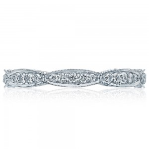 Tacori HT2604B 18 Karat RoyalT Diamond Wedding Band