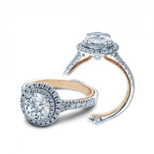 Verragio Couture-0425R-TT Platinum Engagement Ring
