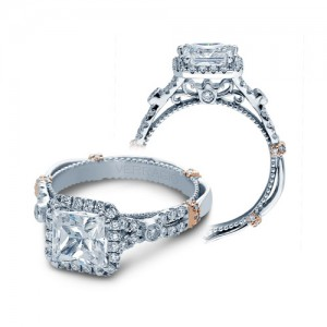 Verragio Parisian-DL109P Platinum Engagement Ring