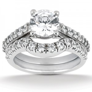 Taryn Collection 18 Karat Diamond Engagement Ring TQD A-199