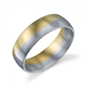 272728 Christian Bauer 14 Karat Wedding Ring / Band
