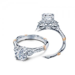 Verragio Parisian-128 Platinum Engagement Ring