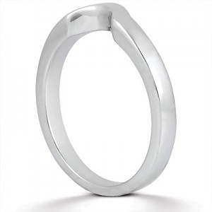 Taryn Collection Platinum Wedding Ring TQD B-6041