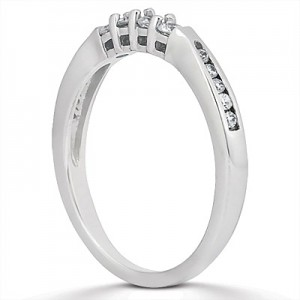 Taryn Collection Platinum Wedding Ring TQD B-8511