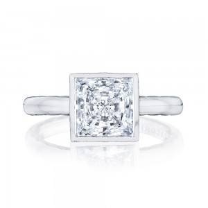 300-25PR75 Platinum Tacori Starlit Engagement Ring