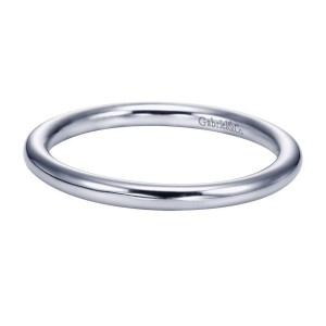 Gabriel Platinum Victorian Wedding Band WB6668PTJJJ