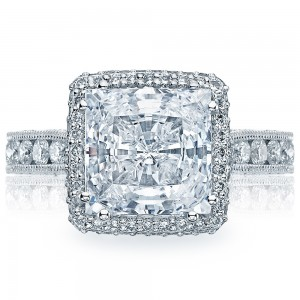 Tacori HT2607PR85 18 Karat RoyalT Engagement Ring