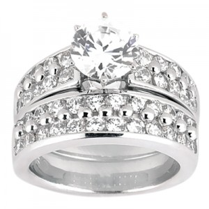 Taryn Collection 18 Karat Diamond Engagement Ring TQD A-424