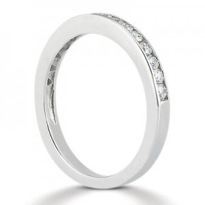 Taryn Collection Platinum Wedding Ring TQD B-2371