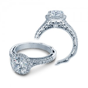 Verragio Venetian-5057R Platinum Engagement Ring