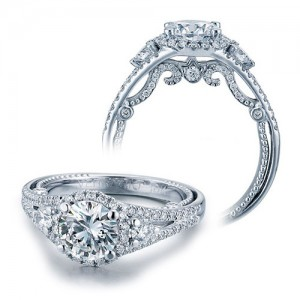 Verragio Platinum Insignia-7068R Engagement Ring