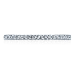 41-15ET Platinum Tacori Sculpted Crescent Diamond Wedding Ring