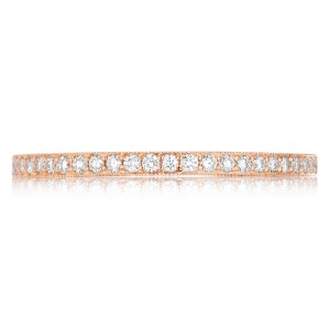 Tacori 41-15PK 18 Karat Pretty in Pink Diamond Wedding Band