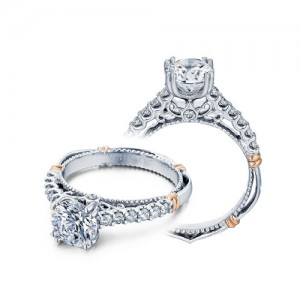 Verragio Parisian-103M Platinum Engagement Ring