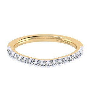 Gabriel 14 Karat Contemporary Wedding Band WB7482M44JJ