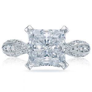 HT2602PR85 Platinum Tacori RoyalT Engagement Ring