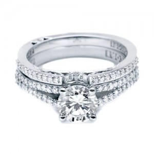 Tacori 3001B Platinum Wedding Band