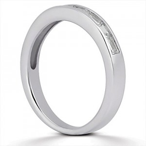 Taryn Collection Platinum Wedding Ring TQD B-512