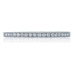 44-15ET Platinum Tacori Sculpted Crescent Diamond Wedding Ring