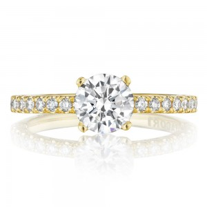 Tacori HT2545RD65Y 18 Karat Tacori Gold Engagement Ring