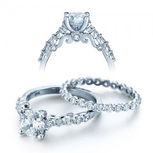 Verragio Platinum Insignia Engagement Ring INS-7034