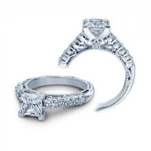 Verragio Venetian-5010P Platinum Engagement Ring