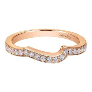 Gabriel 14 Karat Contemporary Wedding Band WB6360K44JJ