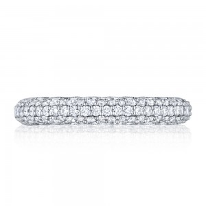 307-35 Tacori Platinum Starlit Diamond Wedding Ring