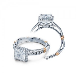 Verragio Parisian-104P Platinum Engagement Ring