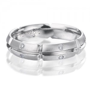 Verragio Platinum Diamond Wedding Band VWD-5905