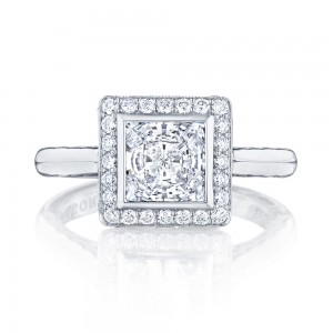 304-25PR65 Platinum Tacori Starlit Engagement Ring