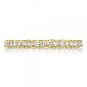 Tacori HT2545B12Y 18 Karat Tacori Gold Wedding Ring