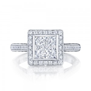 306-25PR65 Platinum Tacori Starlit Engagement Ring