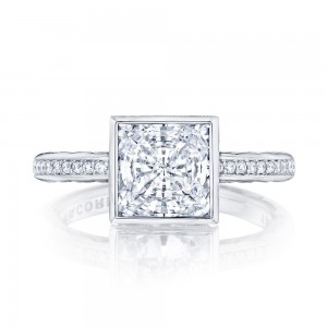305-25PR75 Platinum Tacori Starlit Engagement Ring