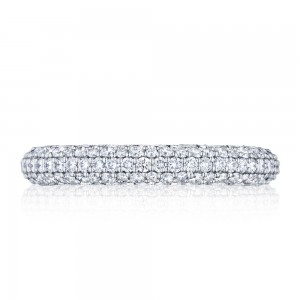 307-35ET Tacori Platinum Starlit Diamond Wedding Ring