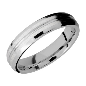 Lashbrook 5B11U Titanium Wedding Ring or Band