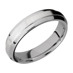 Lashbrook 5B(S) Titanium Wedding Ring or Band