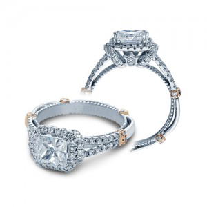 Verragio Parisian-DL117P 18 Karat Engagement Ring