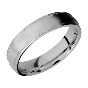 Lashbrook 5DMIL Titanium Wedding Ring or Band