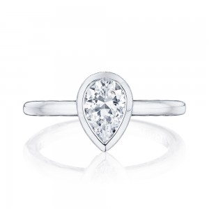 Tacori 300-2PS85X55 18 Karat Starlit Engagement Ring