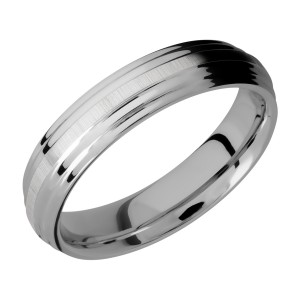 Lashbrook 5F2S Titanium Wedding Ring or Band