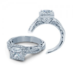 Verragio Venetian-5005P Platinum Engagement Ring