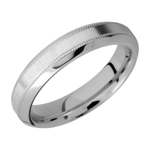 Lashbrook 5HB2UMIL Titanium Wedding Ring or Band