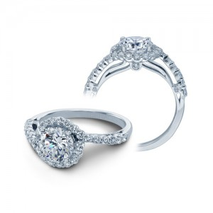 Verragio Platinum Couture Engagement Ring Couture-0390