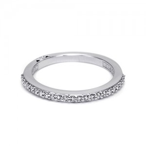 Tacori Platinum Simply Tacori Wedding Band 2630BMD12