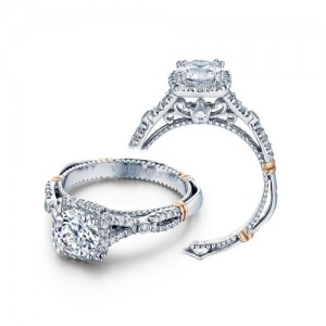 Verragio Parisian-109CU Platinum Engagement Ring